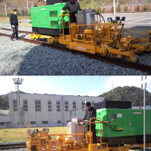 High-Efficiency Rail Re-profiling Unit (For Rail Corrugation)