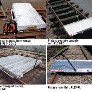 Manual Lightweight Platform Trolleys