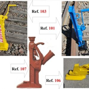 Hydraulic Rail-Lifting Jacks