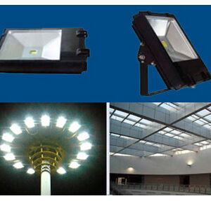 Reflectores Planos tipo LED 30- 70 W
