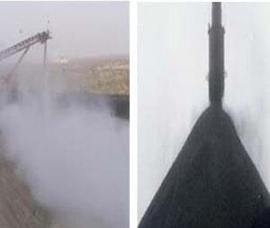 Sistema eficaz para contención de polvo y partículas en suspensión