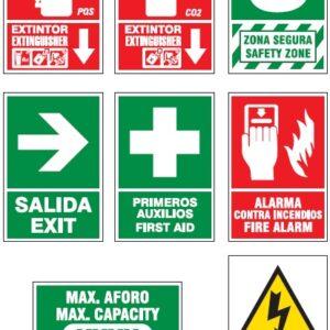 Señales de Seguridad Bilingües