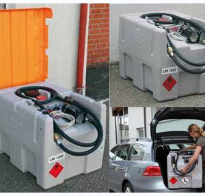 Sistemas de depósitos diesel móviles