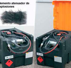 Sistemas de depósitos de gasolina móviles
