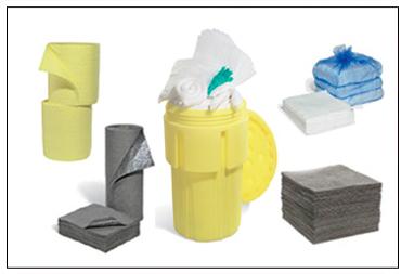 Kit de Derrames para Hidrocarburos, Aceites y Acidos Corrosivos