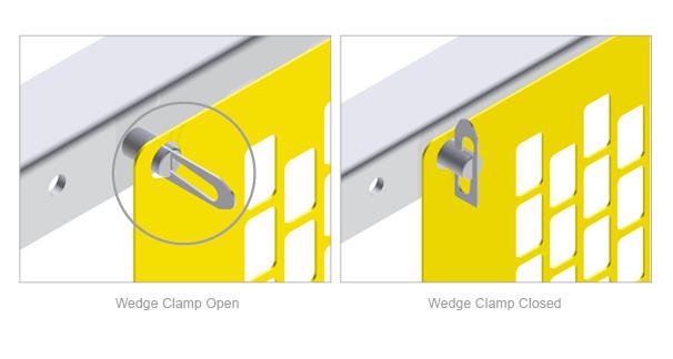 The Safe-Guard® Modular Conveyor Flat Guard