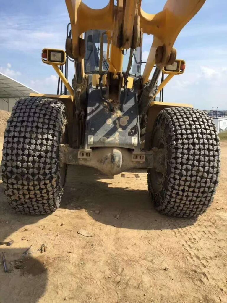 Cadenas protectoras para Neumáticos cadenas para maquinaria pesada